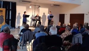 Jazz en Velay lancé par une lecture musicale à Espaly