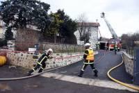 Lantriac : une famille à reloger après un feu d'habitation