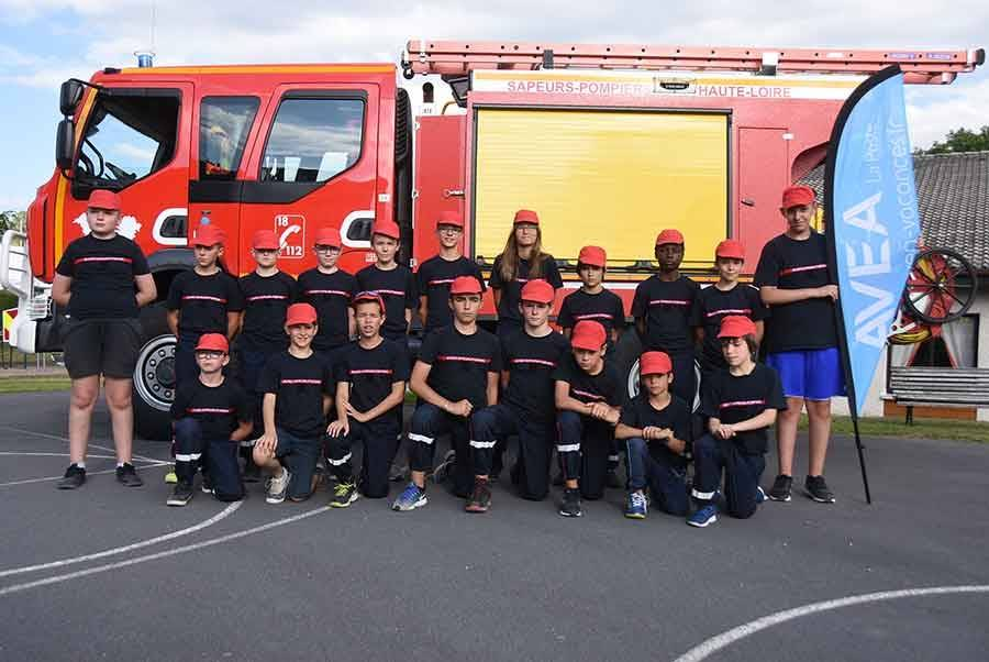 Saint-Julien-Chapteuil : pendant leurs vacances, des enfants dans la peau d'un pompier
