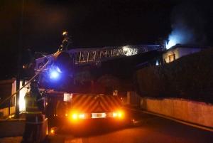 Le Monteil : les voisins donnent l'alerte d'une maison en feu