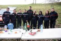 Saint-Didier-en-Velay : 60 randonneurs à la marche des jeunes sapeurs-pompiers