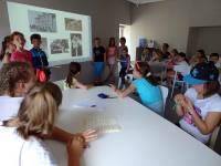 Quatre ateliers étaient proposés aux jeunes.