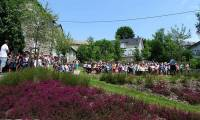 Le Jardin de la mémoire resplendit avec ses bruyères en pleine floraison.