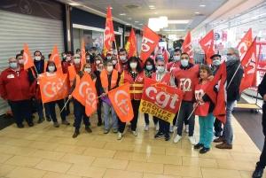 Nouvelle grève ce samedi des salariés au Géant Casino de Vals