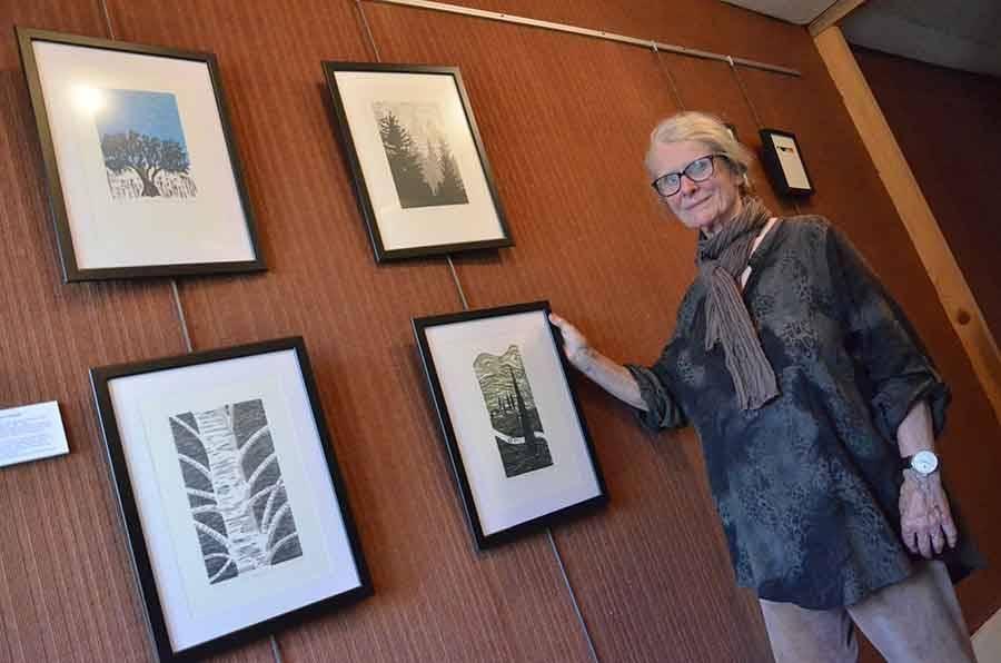 Bernadette Genoud-Prachet et sa forêt magique.