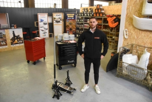 Tence : Rotaket s'installe comme distributeur de remorques poids-lourds et pièces de 4x4