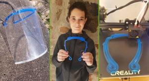 A 13 ans, il crée des visières de protection avec une imprimante 3D