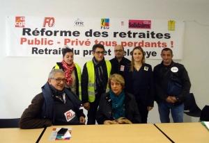 Réforme des retraites : les syndicats appellent à manifester jeudi au Puy-en-Velay