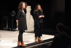 Clémentine Crozet et Cécile Vernet