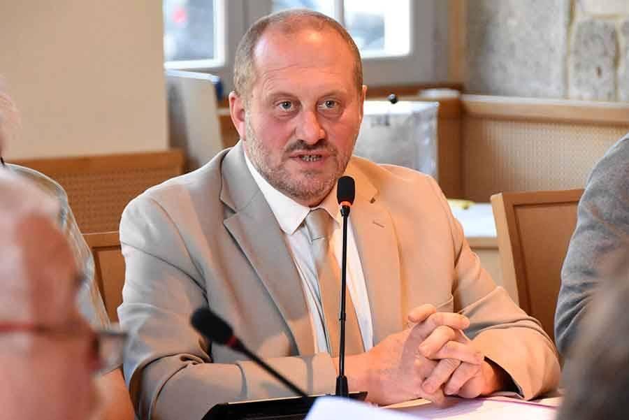 Frédéric Girodet, maire de Saint-Just-Malmont et président de Loire-Semène