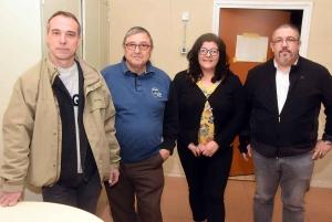 Didier Berod, Claude François, Galit Delannoy et Dominique Montchalin