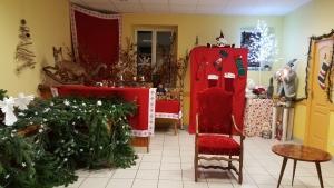 La maison du Père Noël est prête !