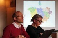 Willy Guieau, drirecteur, et Christine Banassat, présidente