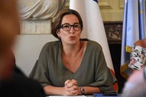 Maryline Mourgues, présidente d'Interfolk