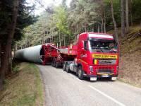 Un convoi exceptionnel bloque la route entre Saint-Bonnet-le-Froid et Lalouvesc