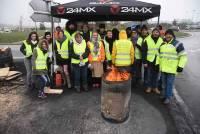 Gilets jaunes : à Saint-Just-Malmont, les manifestants se relaient pour tenir