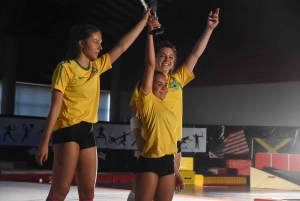 Yssingeaux : les Jeux Olympiques revus et corrigés par les gymnastes