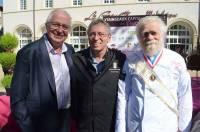 André Perrier, Gérard Trivier et Gabriel Paillasson.