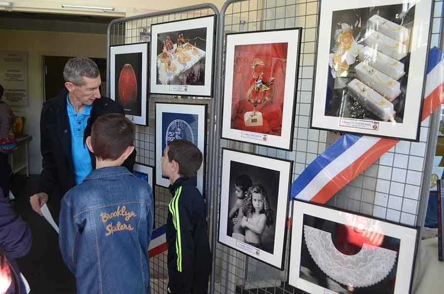 Une exposition sur les MOF.