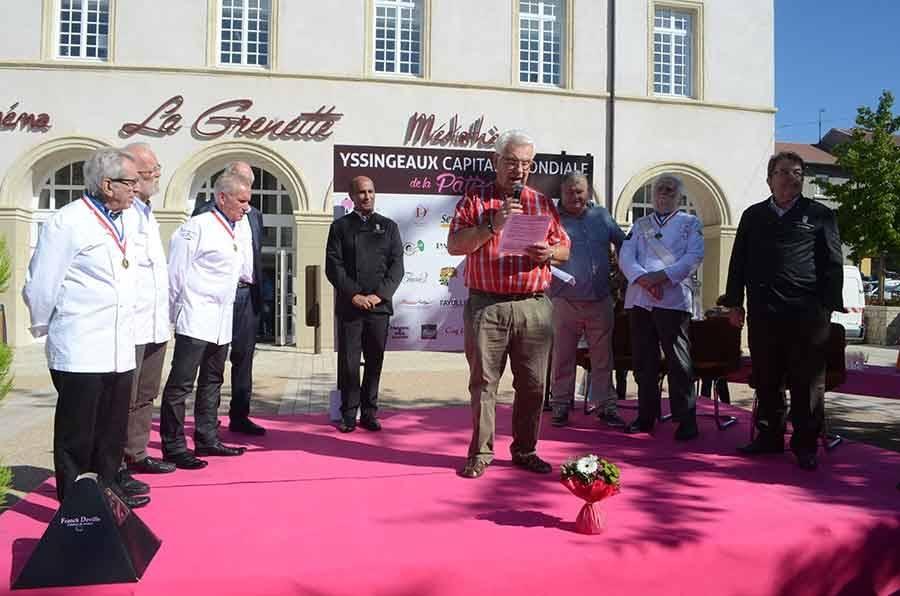 Jean Fanget, président de l'association Goûtez Pur SUc, organisatrice de la Fête de la pâtisserie.
