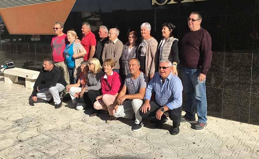 Les Monistroliens de la classe 77 en goguette en Catalogne