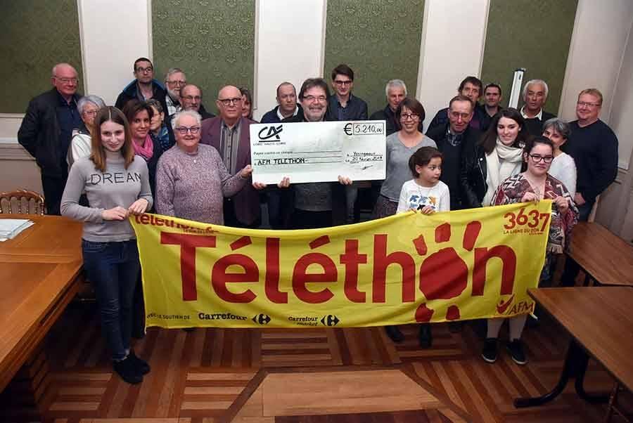 Yssingeaux : la barre des 5 000 euros dépassée pour le Téléthon