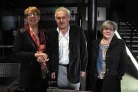 Marie-Claude Bazélis, François Inglese et Colette Chassagne, le trio à l'origine de cette association.