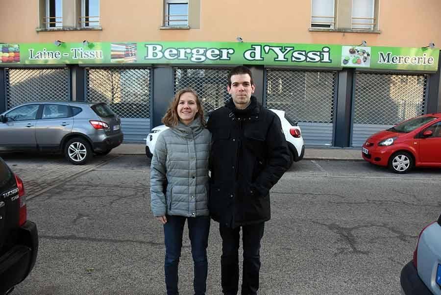 Laura Mathon et Florent Barrué