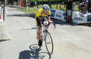 Cyclisme : Jérôme Vacher 12e aux championnats de France Master