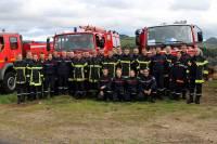 Fay-sur-Lignon : les pompiers s'entraînent avec leurs voisins de Saint-Martin-de-Valamas