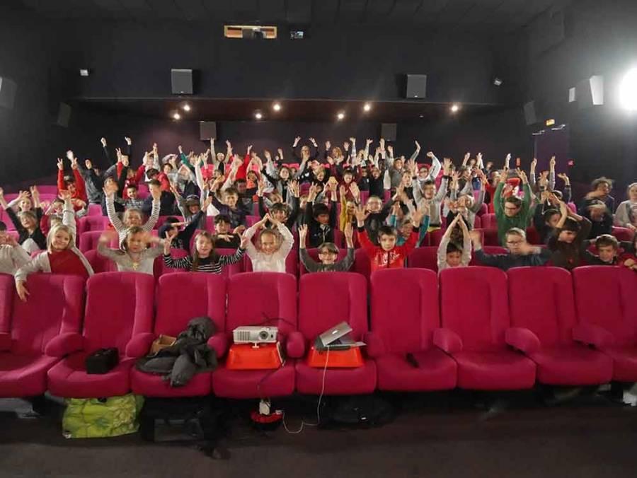 Tence : séance spéciale au cinéma pour les écoliers de Saint-Martin