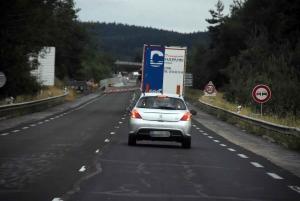 Yssingeaux : un accident près de la zone de travaux du viaduc du Ramel