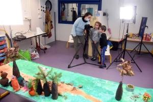 Bas-en-Basset : les maternelles participent à un film d'animation