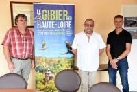 Gilles Fonbelle, directeur, Louis Garnier, président, et Hugues Giraud, technicien