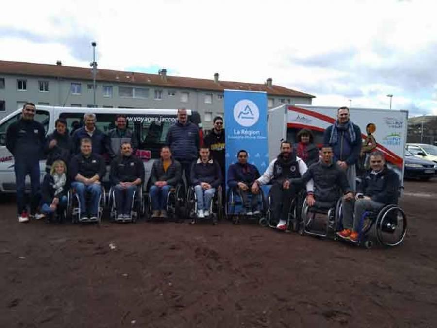 Handibasket : première expérience encourageante du Puy en Coupe d'Europe