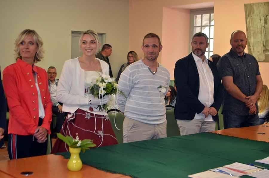Carnet blanc : Aurélie et Ludovic à Saint-Maurice-de-Lignon