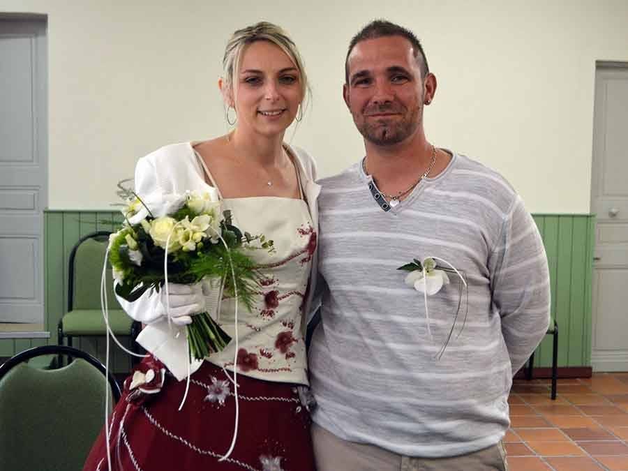 Aurélie et Ludovic Rosas.