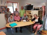 Le nouveau conseil d'administration de Clic Rosières.