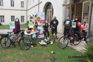 Challenge Mobilité : les salariés du Pays de la Jeune Loire et Pôle emploi du Puy récompensés