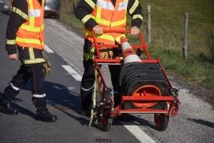 Craponne-sur-Arzon : une voiture et un vélo se percutent dans un virage