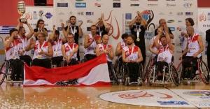 L'équipe autrichienne Crédit Aigles du Velay
