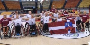 L'équipe de Lituanie Crédit Aigles du Velay