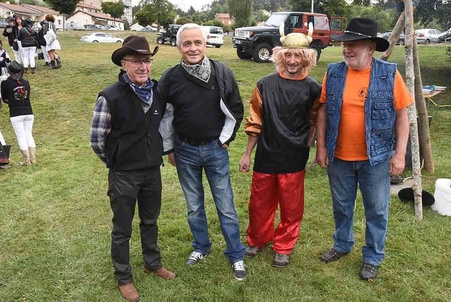La Séauve-sur-Semène : les Gaulois ont affronté les cow-boys