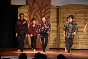"""Les Villettes : les écoliers revisitent le conte """"Myla et l'arbre-bateau"""""""