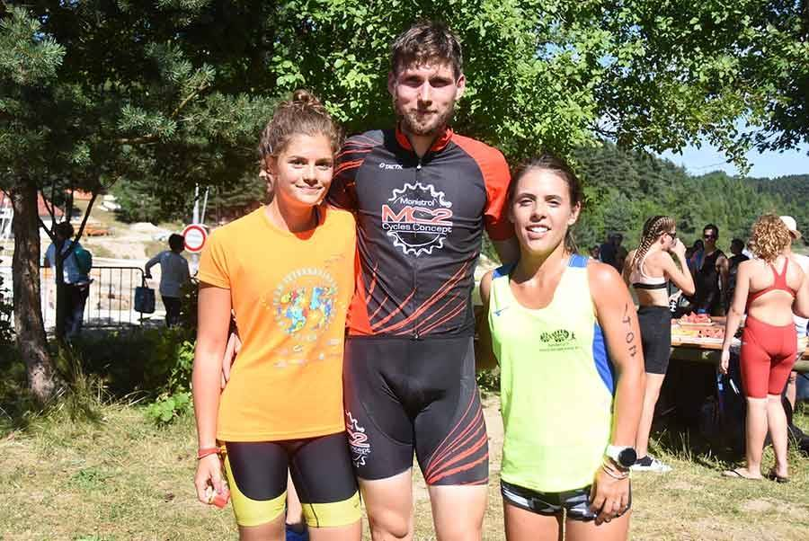 Servane Roche, Sébastien Souchon et Myriam Roche