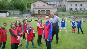 Riotord : les écoliers initiés au rugby