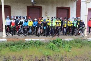 Rassemblement des cyclistes cadets et minimes de la Haute-Loire