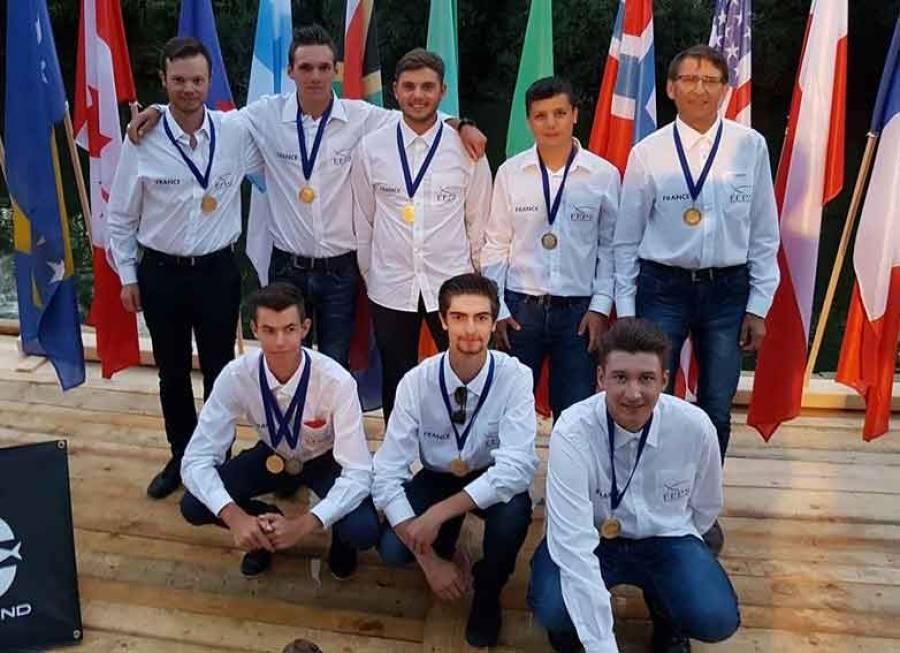 Pêche à la mouche : Mathieu Digonnet de Tence et Quentin Manya champions du monde
