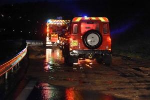 Orages : la vigilance orange maintenue, 115 mm tombés en 3 heures à Monistrol