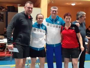 Delphine MARAIS et Sylvain LAFORGE vainqueurs en mixte série 3